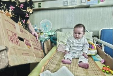 男婴出生无肛门被遗弃 孩子可怜父母狠心