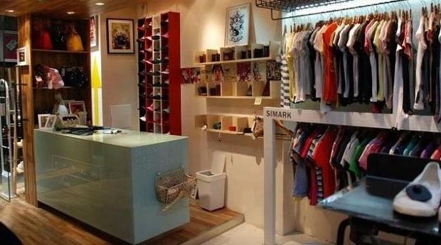 小型服装店的简易企业组织结构图