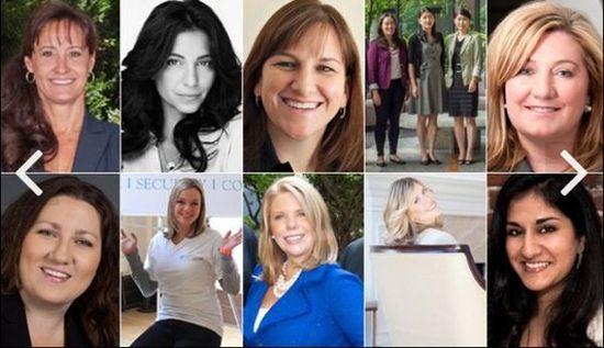 10家女性领导的快速成长新公司