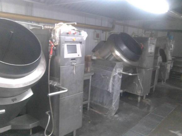 机器人炒菜