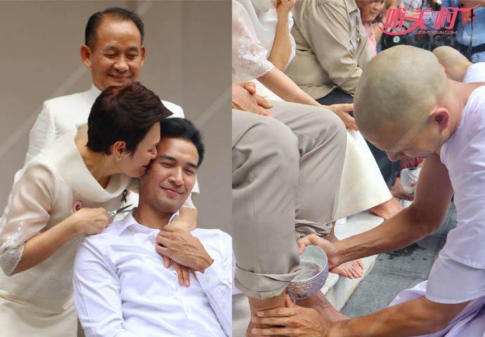 泰国男星剃度出家 当红明星为何要出家