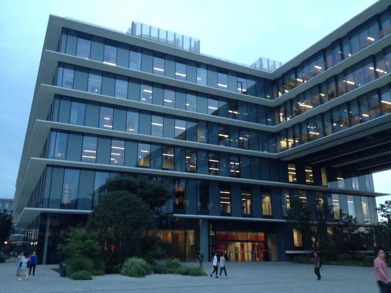 """揭秘杭州阿里巴巴集团总部 大楼造型像""""鲨鱼"""""""