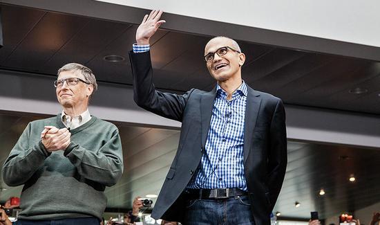 微软重回巅峰:纳德拉是如何扭转局面的?