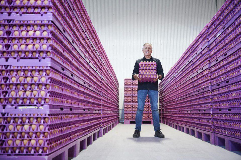 一个62岁农民的生意经:将鸡蛋卖到1.36亿美元