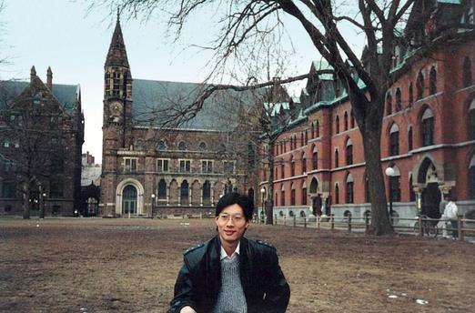 沈南鵬的耶魯大學學習經歷,為他打開了通向商業世界的大門。來源:被訪者供圖