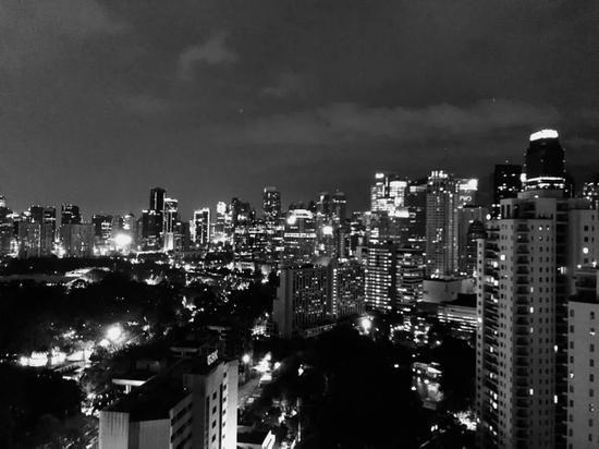 印尼雅加达CBD夜景