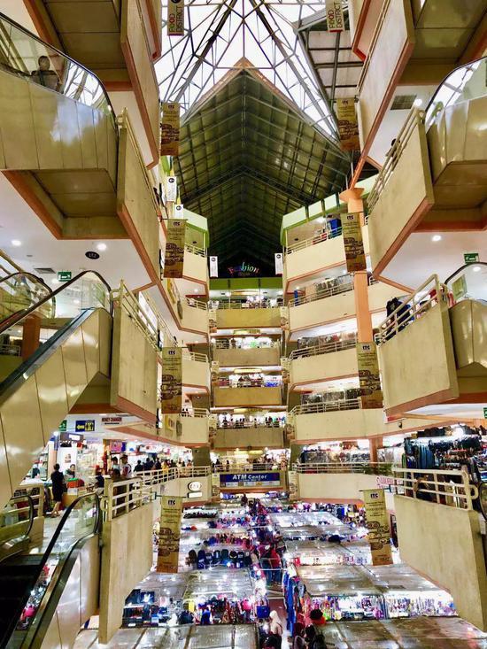 印尼雅加达最大商贸市场