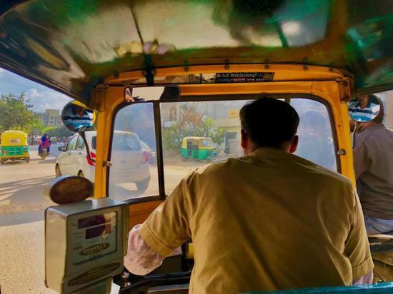 印度小黄三轮