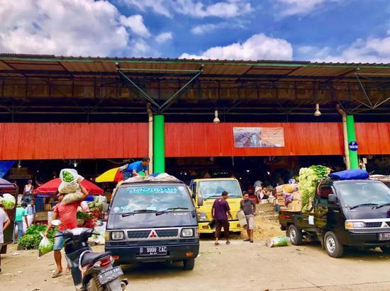 印尼雅加达最大生鲜批发市场