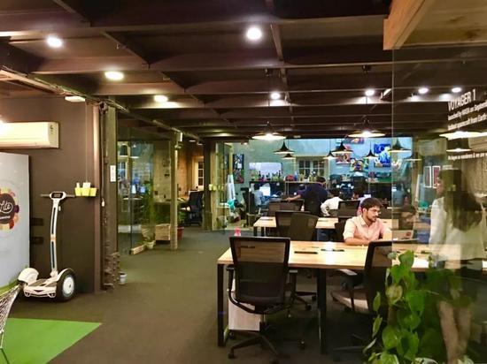 印度德里本地最大共享办公空间innove8