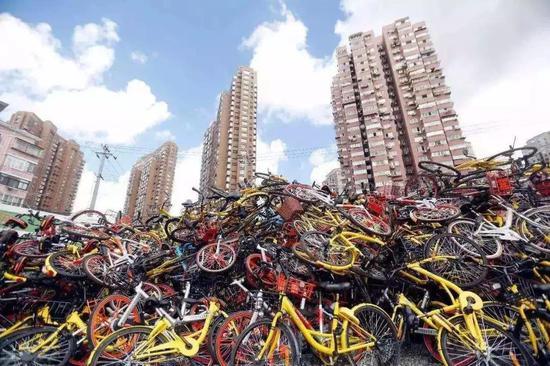 共享单车墓地是行业缺乏竞争力的最好体现