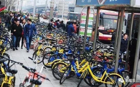 单车堵城的现象随着大潮退去而不复出现
