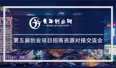 青年创业网第五届创业项目资源招商对接大会